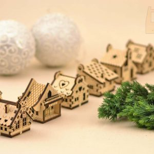 little christmas houses