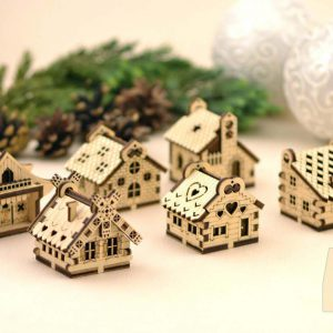 plywood little houses